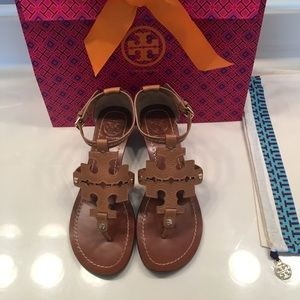 Tory Burch phoebe wedge sandal/ size 6.5